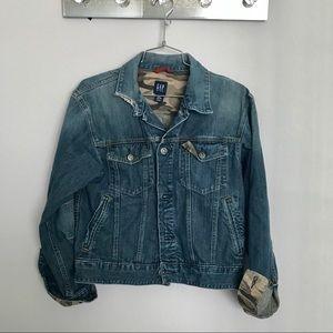 Gap big kids jean jacket
